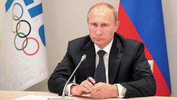 В.Путин встретился с членами Координационной комиссии МОК