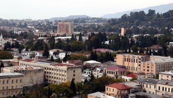 Вид на Сухум. Абхазия. Архивное фото