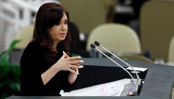 Президент Аргентины Кристина Фернандес де Киршнер. Архивное фото
