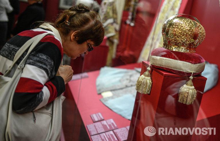 Выставки в кремле