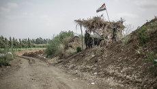 Сирийско-ливанская граница. Архивное фото