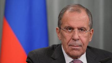 Министр иностранных дел России Сергей Лавров, архивное фото