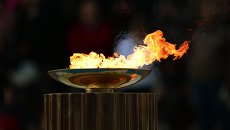 Олимпийский огонь. Архивное фото.