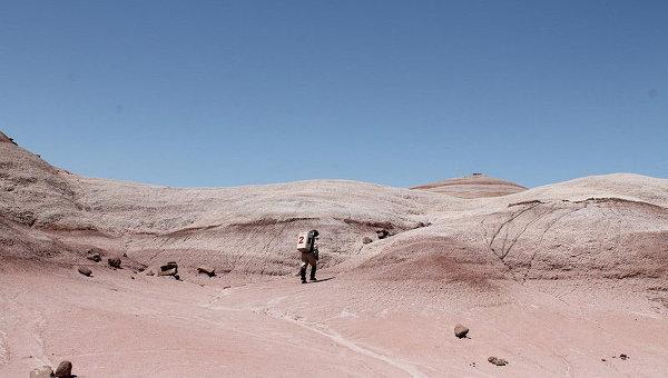 Работа на Марсианской пустынной станции MDRS в штате Юта, архивное фото