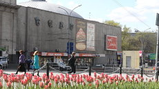 Здание театра Сатиры. Архивное фото