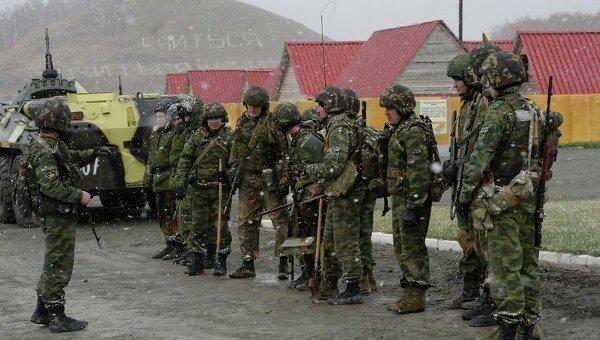 Бойцы спецназа МВД России. Архивное фото