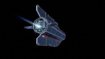 Европейский спутник GOCE. Архивное фото
