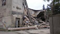 Обрушение здания. Архивное фото