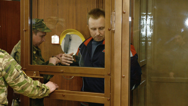 А.Пичугин в зале Мосгорсуда. Архивное фото
