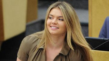 Член комитета Государственной Думы РФ по физической культуре, спорту и делам молодежи Алина Кабаева. Архивное фото