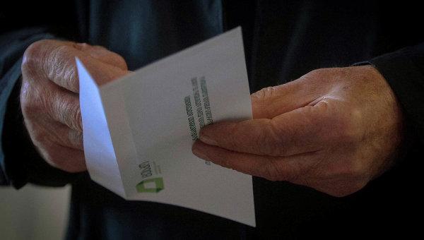 Выборы президента в Грузии, фото с места событий