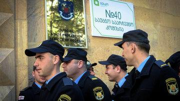 Полиция Грузии. Архивное фото