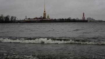 Штормовая погода в Петербурге. Архивное фото