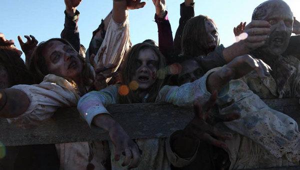 Кадр из сериала Ходячие мертвецы. Архивное фото