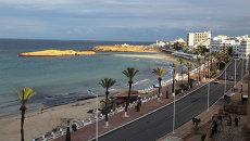 В городе Сус на восточном побережье Туниса