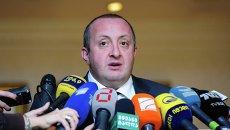 Избранный президент Грузии Георгий Маргвелашвили