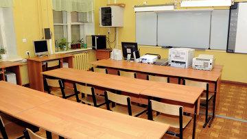Средняя школа закрыта на карантин. Архивное фото