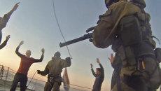 Захват судна Arctic Sunrise пограничниками ФСБ РФ. Кадры спецоперации