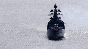 Большой противолодочный корабль Тихоокеанского флота Адмирал Виноградов