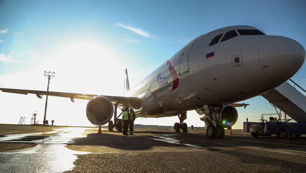 ВСамаре задержали несколько рейсов из-за повреждения полосы самолетом