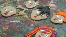 Незрячие дети рисуют пейзаж и лепят свою мечту в Красноярске