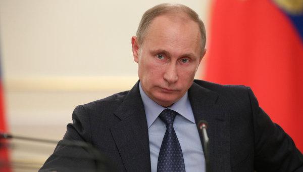 Владимир Путин провел заседание в Ново-Огарево