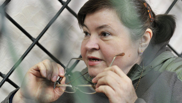 Мать лидера банды Сергея Цапка Надежда. Архивное фото