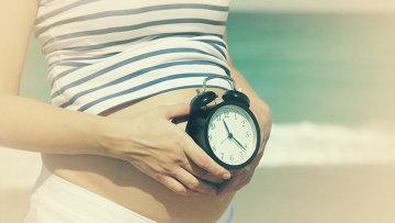 Беременность, архивное фото