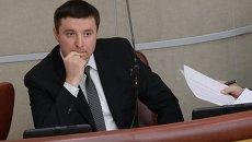 Замминистра труда и соцзащиты РФ Андрей Пудов на пленарном заседании Государственной Думы РФ