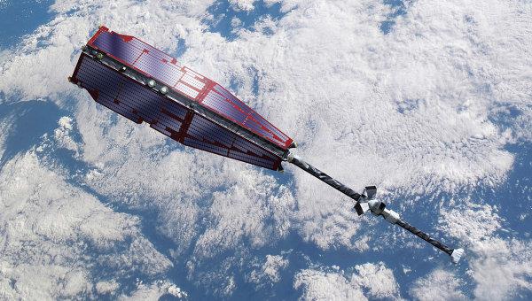Спутники на орбите. Архивное фото