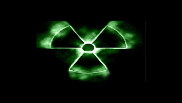 Знак Радиации. Архивное фото