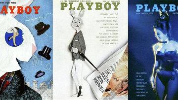Выпуски журнала Playboy: Апрель 1954, Июнь 1963, Апрель 1963