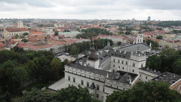 Вид на Вильнюс, Литва. Архивное фото