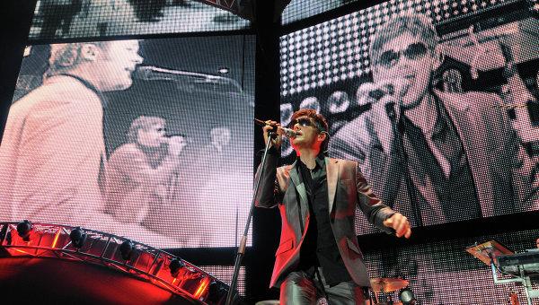 Концерт группы A-ha. Архивное фото