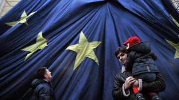 Митинг за евроинтеграцию Украины во Львове