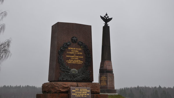 Памятники павшим в отечественных войнах. Архивное фото