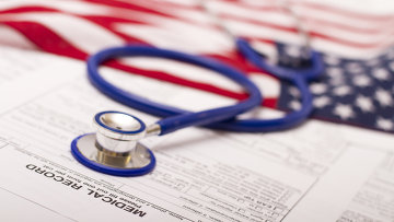 Медицинское страхование в США, архивное фото