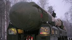 Ракетный комплекс Тополь. Архивное фото