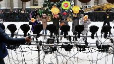 Елки-3 в Самаре: фотосессия у городской елки, фото с места события