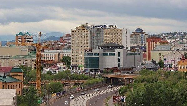 Вид на центр Улан-Удэ