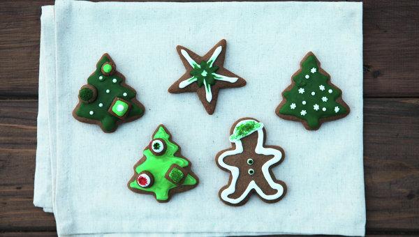 Украшение имбирное печенье рецепт 91