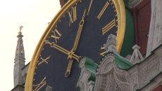 Как устроены кремлевские куранты на Спасской башне. Видеоэкскурсия