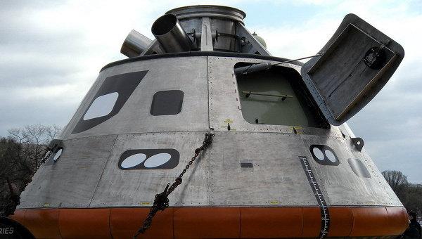 НАСА представило обитаемый модуль нового космического корабля Орион. Архивное фото