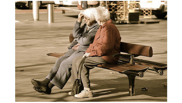Пожилые люди. Архив