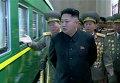 """Ким Чен Ын посетил военную часть Корейской народной армии в годовщину провозглашения своего отца и предшественника Ким Чен Ира """"великим руководителем"""""""