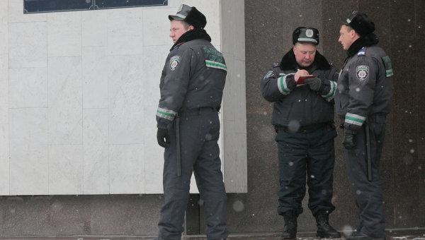 Украинская милиция. Архивное фото