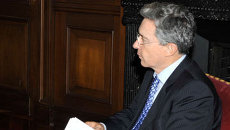 Президент Колумбии Альваро Урибе