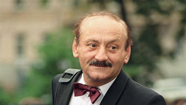 Актер С.Фарада перед открытием XXI Московского международного кинофестиваля