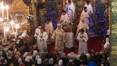 Рождество: праздничное богослужение в главном соборе Самары