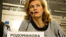 Руководитель пресс-центра Оргкомитета принесения Даров волхвов в Петербурге Наталья Родоманова